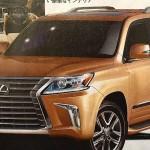 Rò rỉ hình ảnh mới nhất của Lexus LX 570 2016